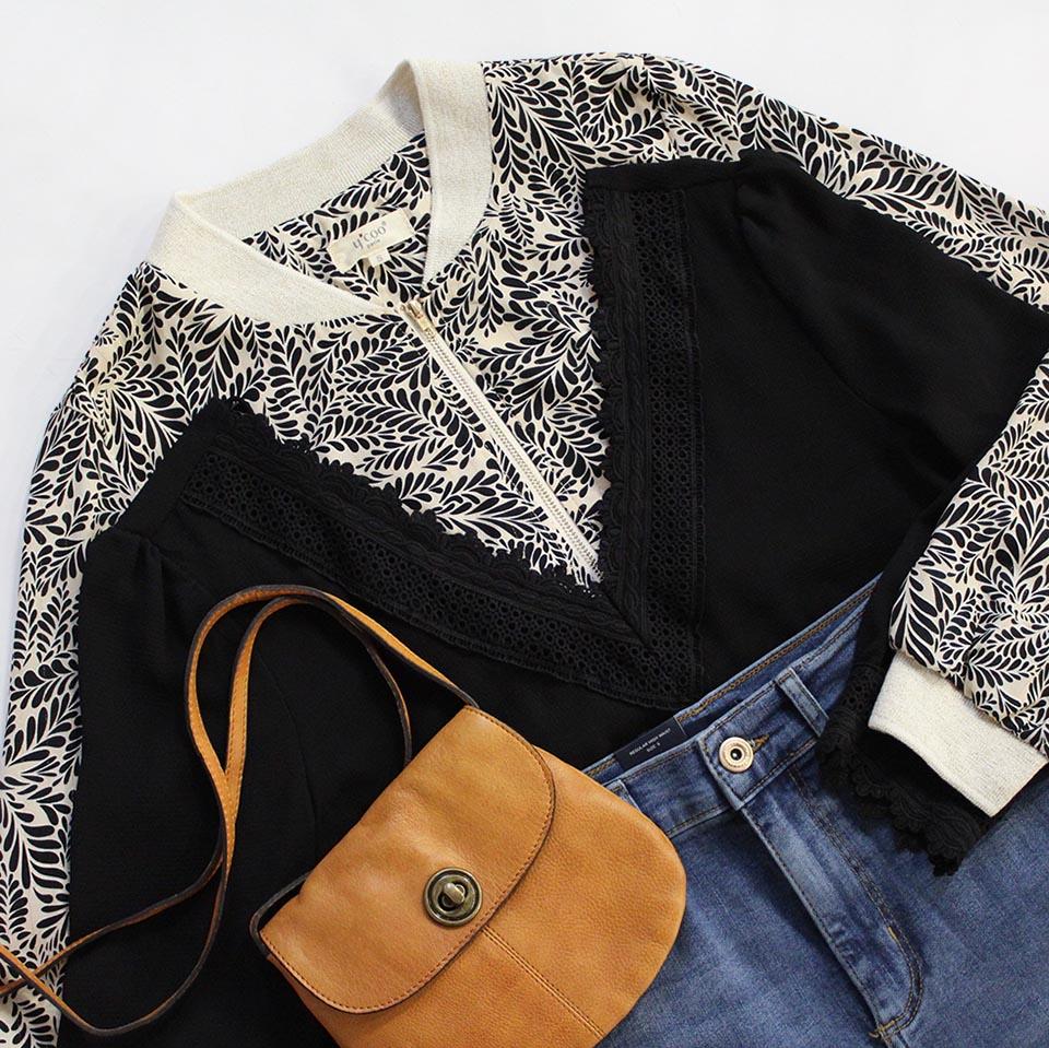 Bomber et blouse Ycoo